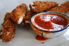 Mozzarella Sticks / 26 Vegan Versions Of Your Favorite Comfort Foods