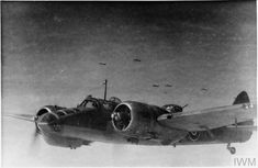 """hms-exeter: """" A Blenheim Mark V of No. 113 Squadron RAF based at Asansol, India, in flight with other aircraft of the Squadron during a bombing raid over Burma. Raf Bases, Bristol Blenheim, Air Force Bomber, Heavy Cruiser, Indian Air Force, Ww2 Aircraft, New Engine, Royal Air Force, Military History"""