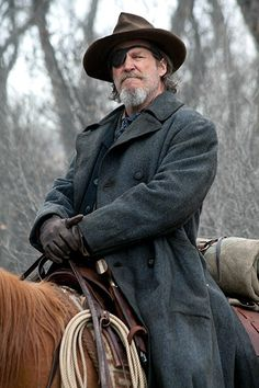 Jeff Bridges, True Grit, this guy is an awesome actor!!
