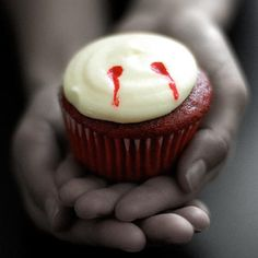 Check out E! Online's vampire-inspired twist on our classic Red Velvet #recipe
