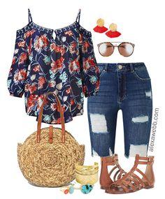 Plus Size Boho Outfit - Plus Size Fashion for Women - alexawebb.com #alexawebb #plussize