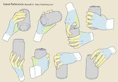Drawing Tips 手のイラスト資料集 -Hand Reference Hand Drawing Reference, Drawing Reference Poses, Anatomy Reference, Drawing Poses, Drawing Tips, Drawing Ideas, Human Figure Drawing, Body Drawing, Anatomy Drawing