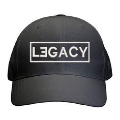Legacy Cap Best Dad Gifts, Cool Gifts, Father And Son, Gifts For Father, Our Legacy, Sons, Baseball Hats, Take That, Cap