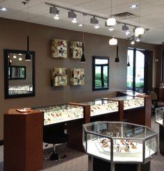 Interior Design for Harris Jewelry Store