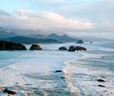 """The Goonies Route,"" Oregon Coast Starting Point: Cannon Beach, OR The Route: 26 miles on Highway 101 to Astoria What to Expect: Hundreds of..."