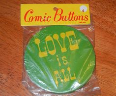 Vintage Love is All Beatles Inspired Large Tin by RetroPickins, $3.50