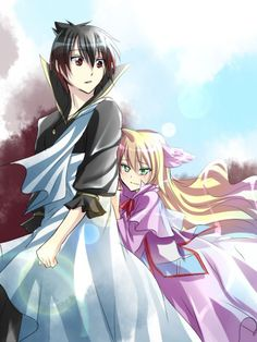Zeref and Mavis well just keep stabbing at my heart why don't you ! Fairy Tail