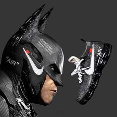 Batman x Nike Air Vapormax Off White