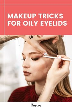 Have oily eyelids? Here's how to keep your eyeshadow from creasing and mascara from smudging. #makeup #beauty #eyes Natural Everyday Makeup, Natural Makeup Looks, Oily Skin, Beauty Tutorials, Beauty Hacks, Makeup Tutorials, Eyeshadow Primer, Eyeshadow Brushes