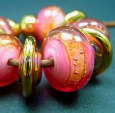 5FISH Handmade Lampwork Murano Glass Set Beads Italian Royal Hawaiian | eBay