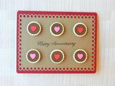 Box of Chocolates Anniversary Card