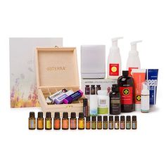 All this and more freebies, too!  Contact me for more info.  Natural Solutions Kit  Essential Oils: 5 mL bottles:  Frankincense, Melaleuca, Oregano, DigestZen®, Purify, AromaTouch®, doTERRA Serenity®, doTERRA Breathe®, doTERRA Balance®  10 mL bottles:  PastTense®, ClaryCalm®  15 mL bottles:  Citrus Bliss®, Lavender, Lemon, Peppermint, Slim & Sassy®, Lemongrass, doTERRA On Guard®  Other Products:  doTERRA Lifelong Vitality Pack®, DigestZen TerraZyme®, HD Clear® Foaming Face Wash, Deep Blue®…
