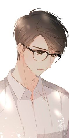 Drawing Hairstyles For Your Characters - Drawing On Demand Handsome Anime Guys, Cute Anime Guys, Cute Anime Couples, Anime Boys, Fanarts Anime, Anime Characters, Dossier Photo, Manga Kawaii, Anime Guys With Glasses