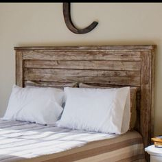 Rustic Headboards diy rustic headboard--takes a total of 3-6 hours and listed as