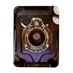 Old camera magnet - retro gifts style cyo diy special idea