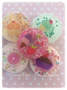 Kawaii Cute Locker Magnets, Kitchen magnets, Magnet board, Refrigerator Magnets on Etsy, $15.00