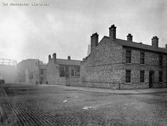 """Hulme, Manchester, late 19th century. Home to Bernie's Irish family and in the vicinity of Mrs Franklin's secret lesbian ball. Hulme was mostly made up of Irish and other immigrants. .""""on the very edges of the packed terraces of Hulme. An area which  like Ancoats was home to the many factory and mill workers, a great deal of the city's Irish being housed ..the  terraces looked dense and despicable enough but in no sense could they be deemed as bad as some of the courts in Ancoats."""""""