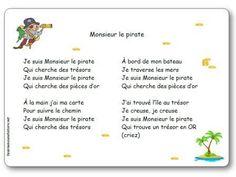Comptine Monsieur le pirate Parenting, Château Fort, Recherche Google, Teaching Resources, Images, Animation, French, Preschool Pirate Theme, Parents