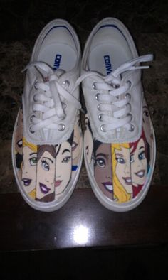 Disney shoes I made on the fly
