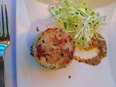 Crab Cake at The View Restaurant NYC