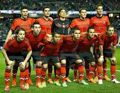 Selección de Mexico mundial de Brasil 2014