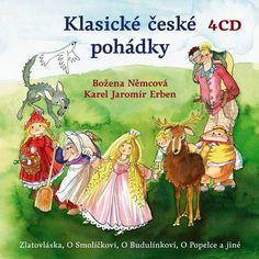 iTunes Cover Studio.cz: Božena Němcová, Karel Jaromír Erben: Klasické česk... Itunes, Comic Books, Comics, Fictional Characters, Studio, Cover, Author, Studios, Cartoons