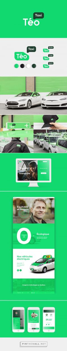 Téo Taxi on Behance... - a grouped images picture - Pin Them All
