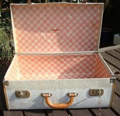 ladies vintage white suitcases - Google Search