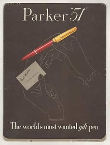 vintage pen posters parker - Google Search
