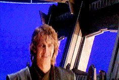 Hayden Christensen and Ewan McGregor behind-the-scenes of Star Wars gif. I love how goofy they are haha. Everytime I feel down because of the sad heartbreak in the movies I just sit and watch the behind-the-scenes to make me feel better ^-^