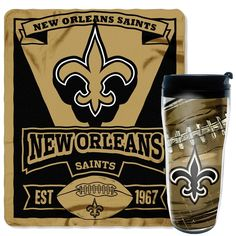 Use this Exclusive coupon code: PINFIVE to receive an additional 5% off the New Orleans Saints NFL Mug N' Snug Gift Set at SportsFansPlus.com
