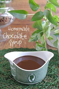 Homemade Chocolate Syrup is delectable clean eating with no preservatives or additives. So easy and this deep rich chocolate can be used for...