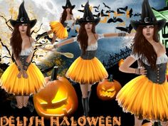 .:: DELISH ::. Halloween Costumes - Witch -02
