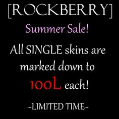 [ROCKBERRY] Summer SALE | Flickr - Photo Sharing!