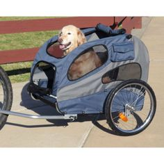 RadioFence.com - HoundAbout Large Bicycle Trailer, $249.95 #pets #dogs #cats #bike #biketrailer (http://www.radiofence.com/houndabout-large-bicycle-trailer/)