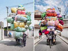 Les totems chinois d'Alain Delorme