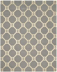 Bagneux Hand-Loomed Grey/Gold Area Rug