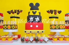 Atelier de Festas: Festa Mickey