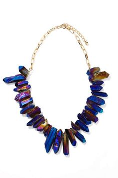 Crystal Galaxy Necklace - Necklaces | Accessories | Back In Stock