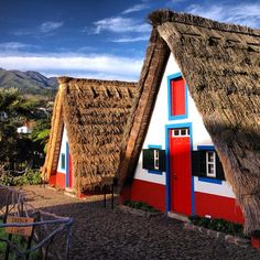 Casas de Santana, Madeira, Portugal Photo by theblondegypsy