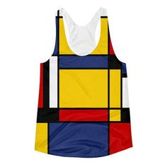 This is a soft and comfortable tank, plus the racerback cut gives it an athletic look. • 100% polyester • Fabric weight: 4.5 oz/yd² (153 g/m²) • 30 singles thread weight • Unisex fit • Made in the USA
