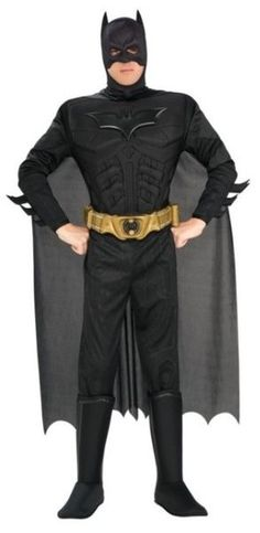 Batman Dark Knight Rises Child s Deluxe Muscle Chest Batman Costume with Mask/Headpiece and Cape - Small. Batman Dark Knight Rises Childs Deluxe Muscle Chest Batman Costume with Mask/Headpiece and Cape - Small. Diy Knight Costume, Batman Halloween Costume, Batman Costumes, Batman Outfits, Adult Costumes, Adult Halloween, Spirit Halloween, Buy Costumes, Knight Halloween