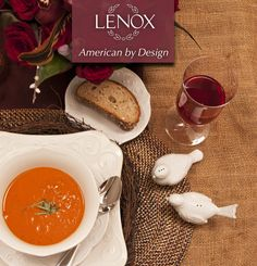 Fall, in Love.  Patrick J. Hamilton has helped Lenox prepare a romantic dinner for two, featuring our versatile French Perle!