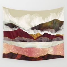 Buy Melon Mountains Wall Tapestry by spacefrogdesigns. Worldwide shipping available at Society6.com. Just one of millions of high quality products available.