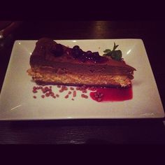 Dulce de leche cheesecake... Amazing! #munched