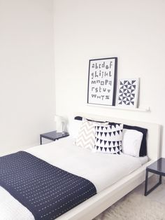 bedroom using ikea malm bed 36 - TrueHome Bed Decor, Ikea Malm Bed, Single Bedroom, Home, Bedroom Design, Small Bedroom, Simple Bedroom, Malm Bed, Ikea Bedroom Design