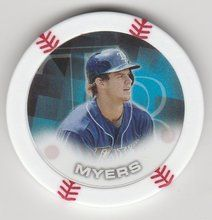 2014 Topps MLB Poker Chipz Wil Myers Tampa Bay Rays