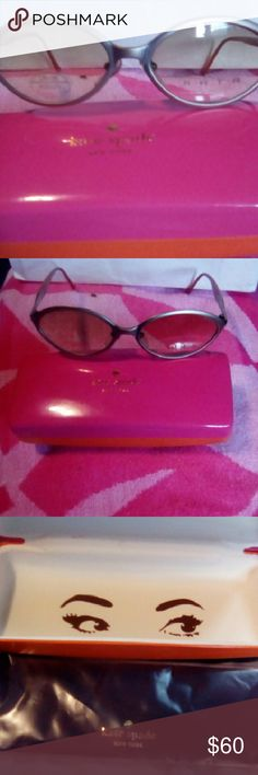Kate Spade sunglasses New never used Kate Spade sunglasses with case... Accessories Glasses