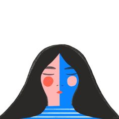 Libby VanderPloeg creates animated GIF illustrations that have a handcrafted feel. Learn how she got into making motion here! Animiertes Gif, Animated Gif, People Illustration, Graphic Illustration, Vector Illustrations, Gifs, Mood Gif, Aesthetic Gif, Cool Animations