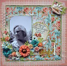 Graphics 45 Secret Garden papers